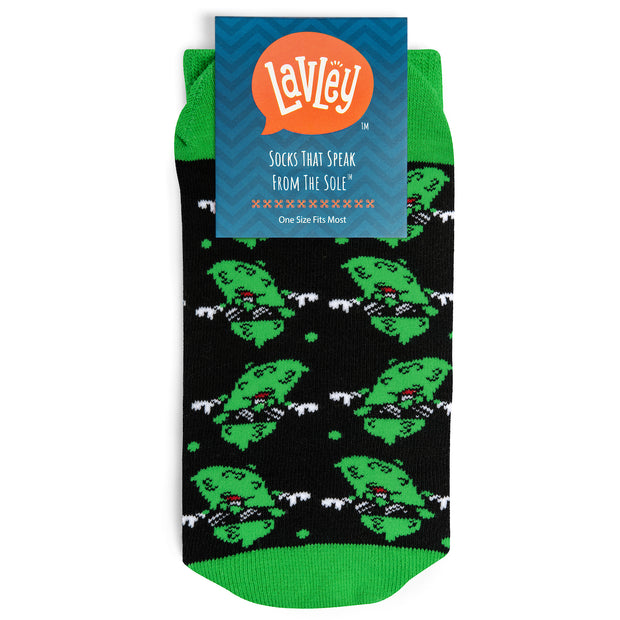 Chill As A Dill Pickle Crew Socks 1