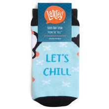 Let's Chill Penguin Socks