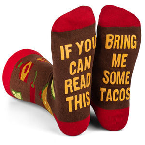 Bring Me Some Tacos Crew Socks