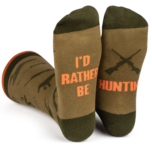 I'd Rather Be Hunting Socks