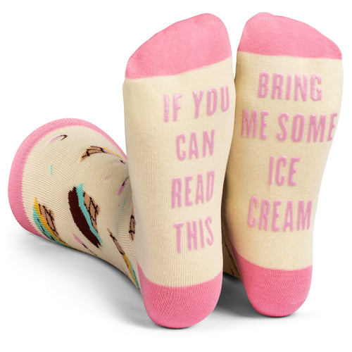 Bring Me Some Ice Cream Socks