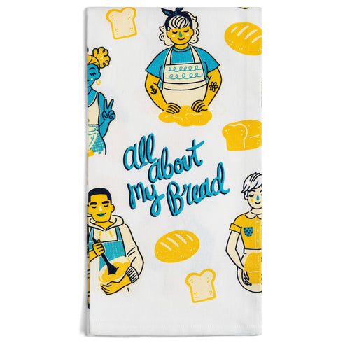All About My Bread Dish Towel