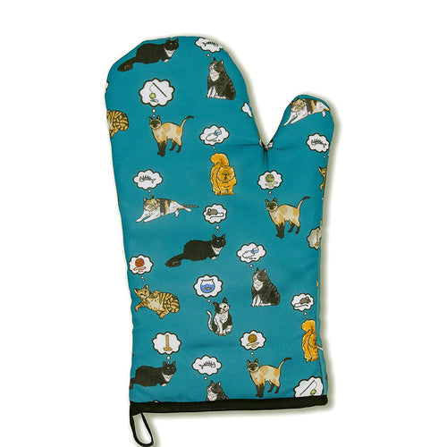 Cat Dreams Oven Mitt