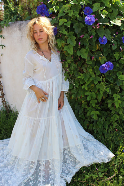 LOVE DRESS WHITE DREAM IBIZA WITH LACE