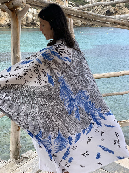 Angel wing Sarong new collection -  AUROBELLE  IBIZA