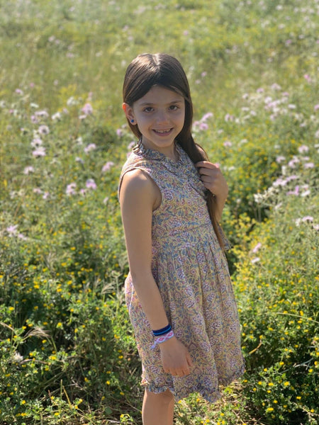 Angelina kids wrap dress for our little aurobelle girls. -  AUROBELLE  IBIZA