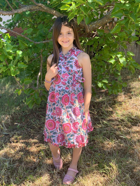 Angelina our kids wrap dress for our little aurobelle girls. -  AUROBELLE  IBIZA