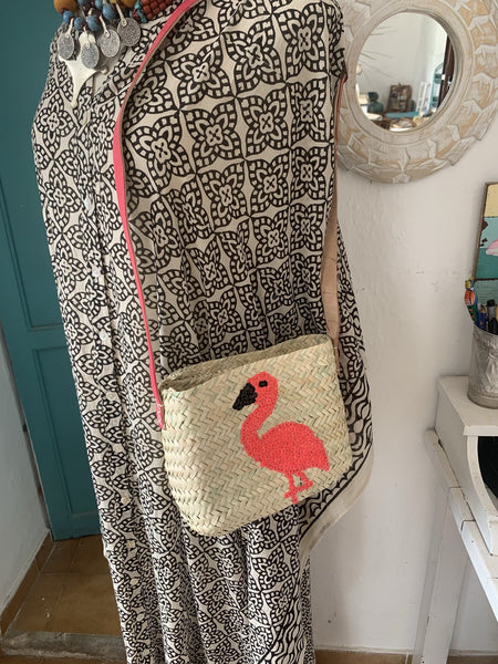 Flamingo from Salinas have arrived -  AUROBELLE  IBIZA
