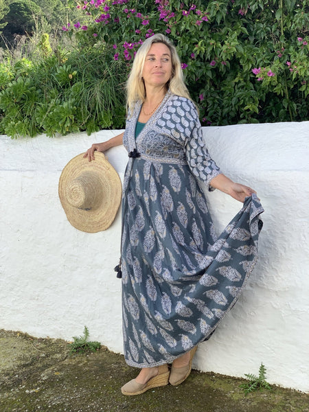 Gayatridevi dream boho  beauty dress -  AUROBELLE  IBIZA