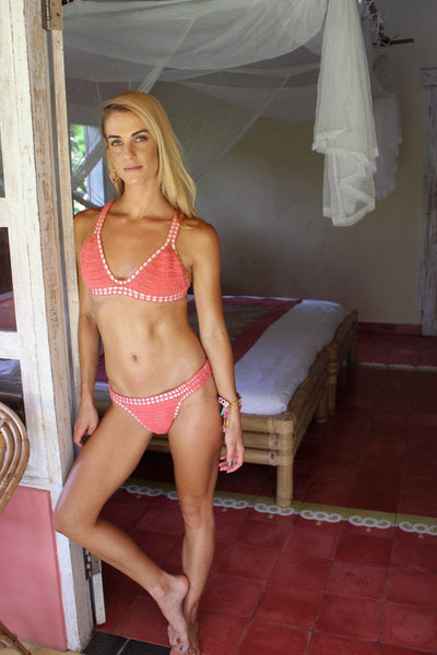 Kini bikini strawberry crochet from Ibiza