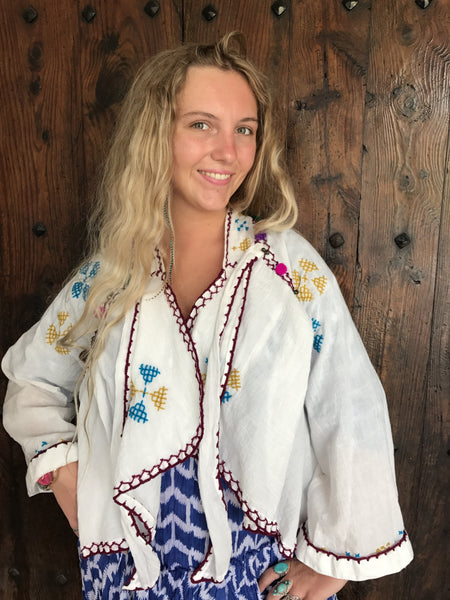 Boho cotton hippy cotton jacket