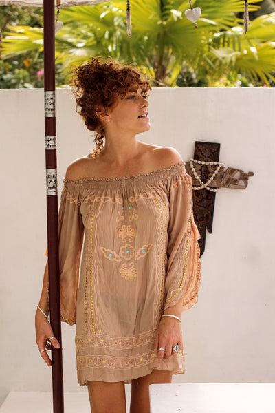 Ibiza beach boho Blouse