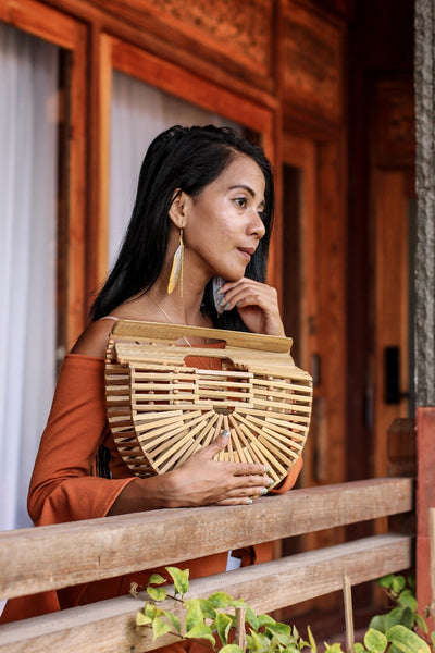 The Vintage bamboo bag