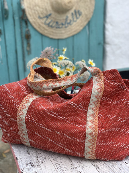 Kantha boho shopping bag no 11 -  AUROBELLE  IBIZA