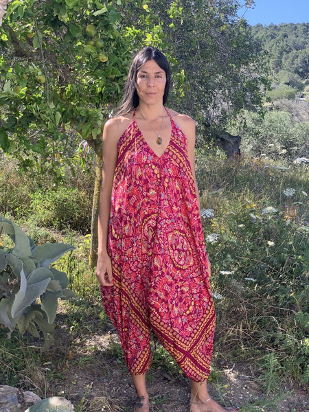 Magic jumpsuit pinky beautiful -  AUROBELLE  IBIZA