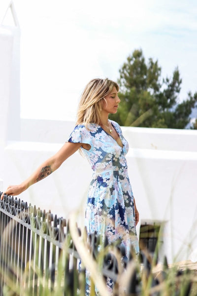 Palma  summer dress -  AUROBELLE  IBIZA