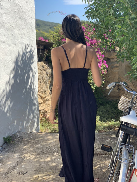 Slit dress sexy Ibiza fashion dress -  AUROBELLE  IBIZA