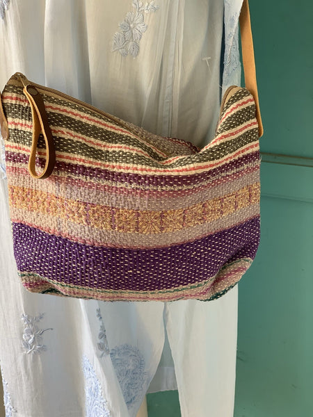 Travel bag kantha np 2 -  AUROBELLE  IBIZA