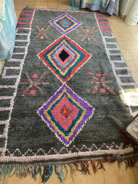 Vintage Berber Morocco carpet rugs abstract design.  10 -  AUROBELLE  IBIZA