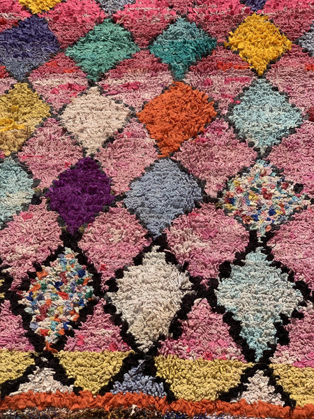 Vintage Berber Morroco carpet rugs abstract design.  6 -  AUROBELLE  IBIZA