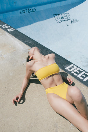 The Mia // Tube Top - Yellow