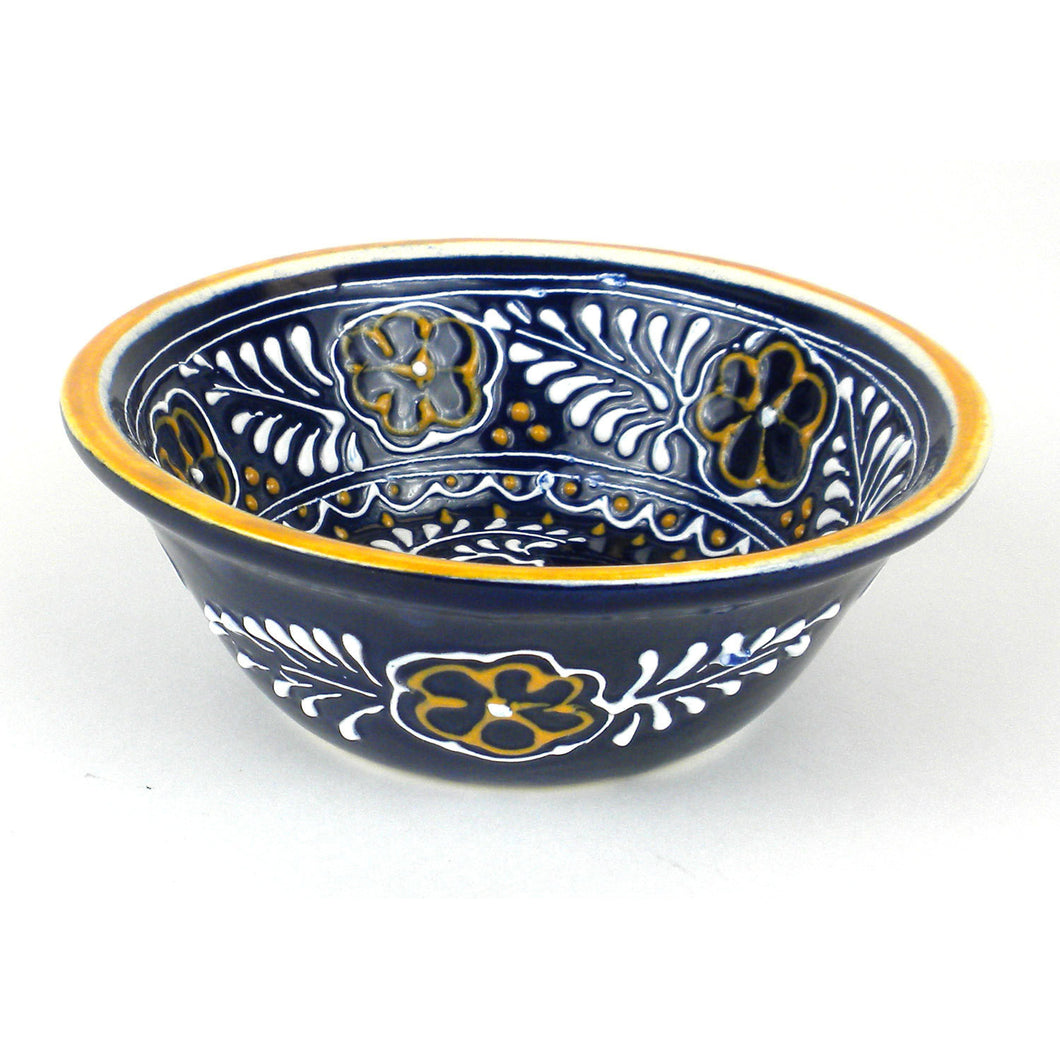 Small Bowl - Blue Handmade and Fair Trade