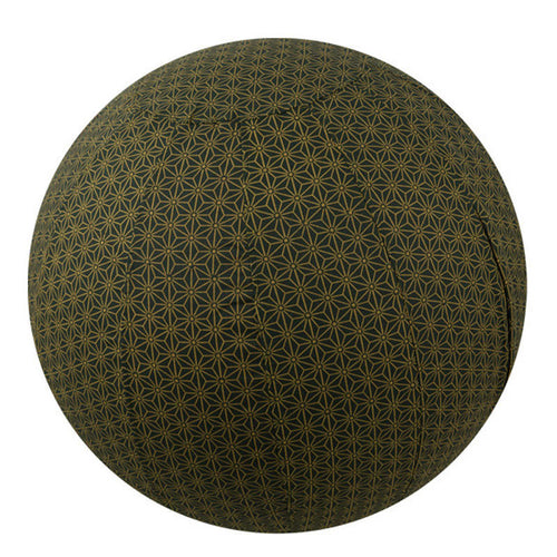 Yoga Ball Cover Size 65cm Design Olive Geometric