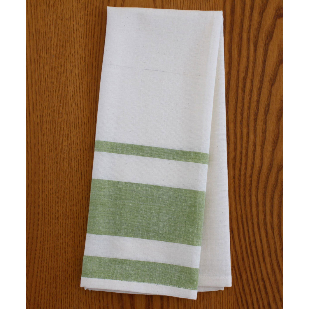 Lime Cotton Tea Towels Set of 2