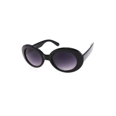 Womens Celebrity Oval Sunglasses