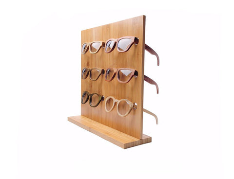 Bamboo Sunglass Display - BayNavy,  - Sunglasses, BayNavy - BayNavy