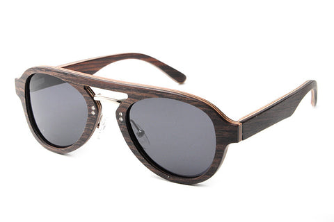 Retro Vintage Cat-Eye Wooden Sunglasses - BayNavy, Sunglasses - Sunglasses, BayNavy - BayNavy