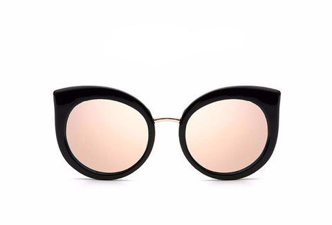 BayNavy Rose Gold Vintage Cat Eye - BayNavy, Sunglasses - Sunglasses, BayNavy - BayNavy