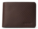 Qiwang Genuine Black Leather Wallet - BayNavy,  - Sunglasses, BayNavy - BayNavy
