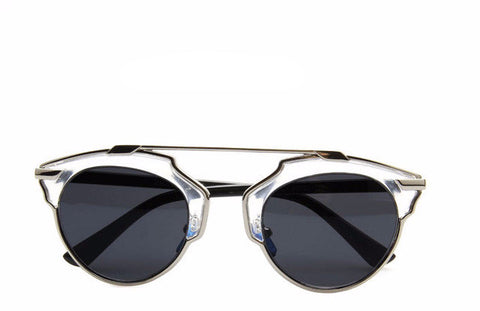 Superstar Cat Eye with Lense Mirror - BayNavy, Sunglasses - Sunglasses, BayNavy - BayNavy