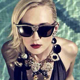Embellished Cat Eye Sunglasses - BayNavy, Sunglasses - Sunglasses, BayNavy - BayNavy
