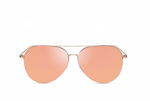 Flat Top Mirror Sunglasses - BayNavy, Sunglasses - Sunglasses, BayNavy - BayNavy