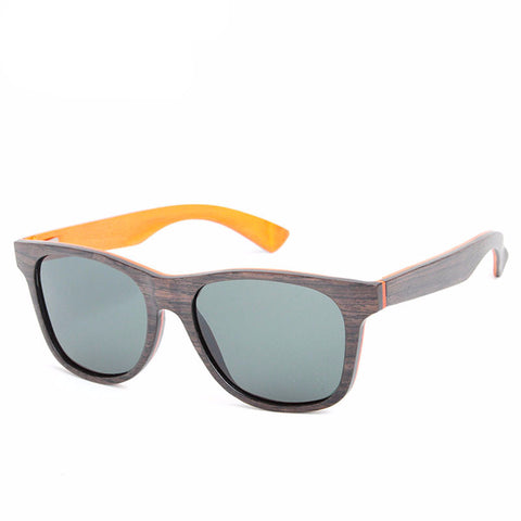 Polarized Wood Sunglasses (Zebra Veneer Wood) - BayNavy, Sunglasses - Sunglasses, BayNavy - BayNavy