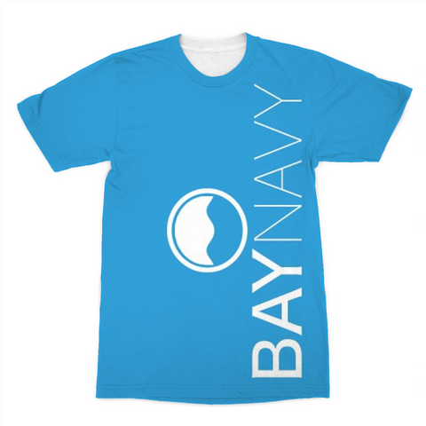 BayNavy Light Blue Sublimation T-Shirt - BayNavy, Apparel - Sunglasses, BayNavy - BayNavy