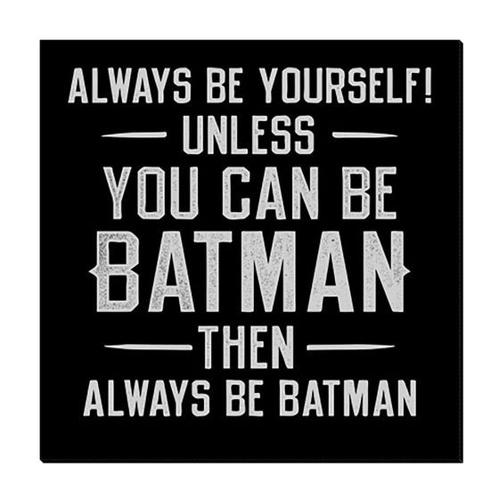 Batman Quote - TheCanvasWarehouse