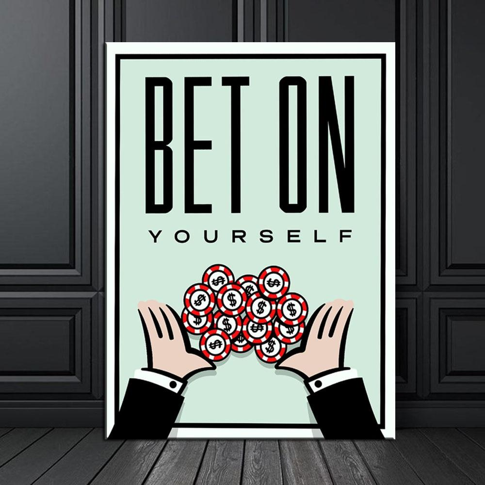 Bet on Yourself - TheCanvasWarehouse