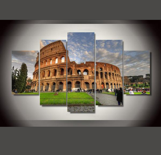 The Colosseum - 5 Piece Set - TheCanvasWarehouse
