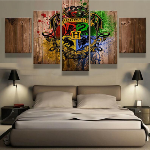 Harry Potter - 5 Piece Set - TheCanvasWarehouse