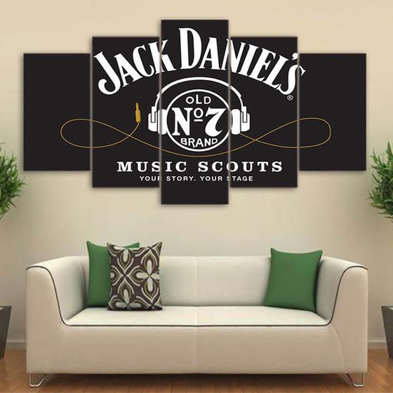 Jack Daniel's - 5 Piece Set - TheCanvasWarehouse