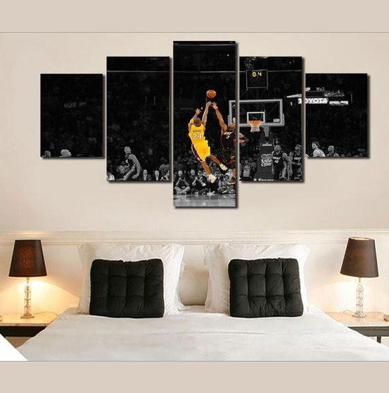 Kobe Bryant 24 - 5 Piece Set - TheCanvasWarehouse