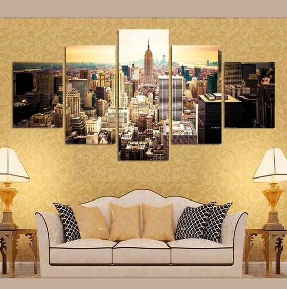 NYC - 5 Piece Set - TheCanvasWarehouse