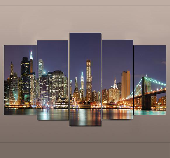 New York City - 5 Piece Set - TheCanvasWarehouse