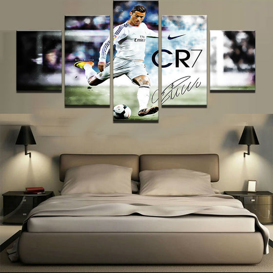 Cristiano Ronaldo CR7 - 5 Piece Set - TheCanvasWarehouse