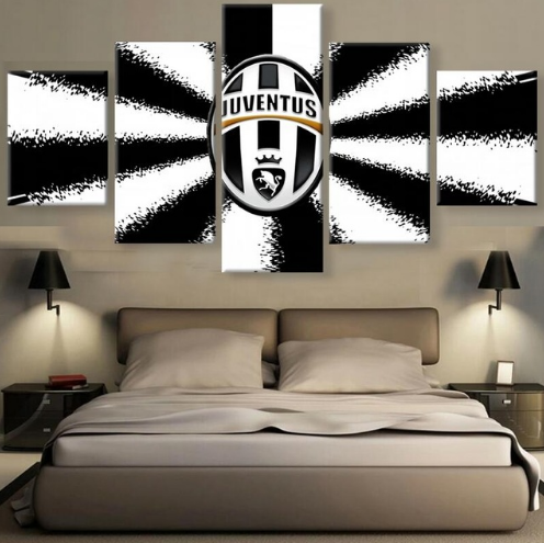 Juventus - 5 Piece Set - TheCanvasWarehouse