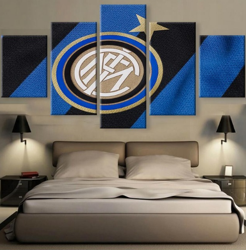 Inter Milan - 5 Piece Set - TheCanvasWarehouse