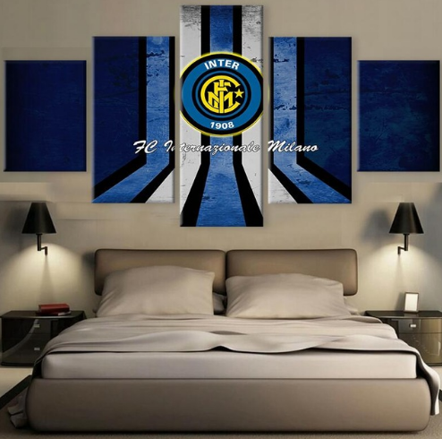 "Inter Milan ""Home"" - 5 Piece Set - TheCanvasWarehouse"